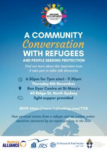 November 2018 TableTalk on Refugees