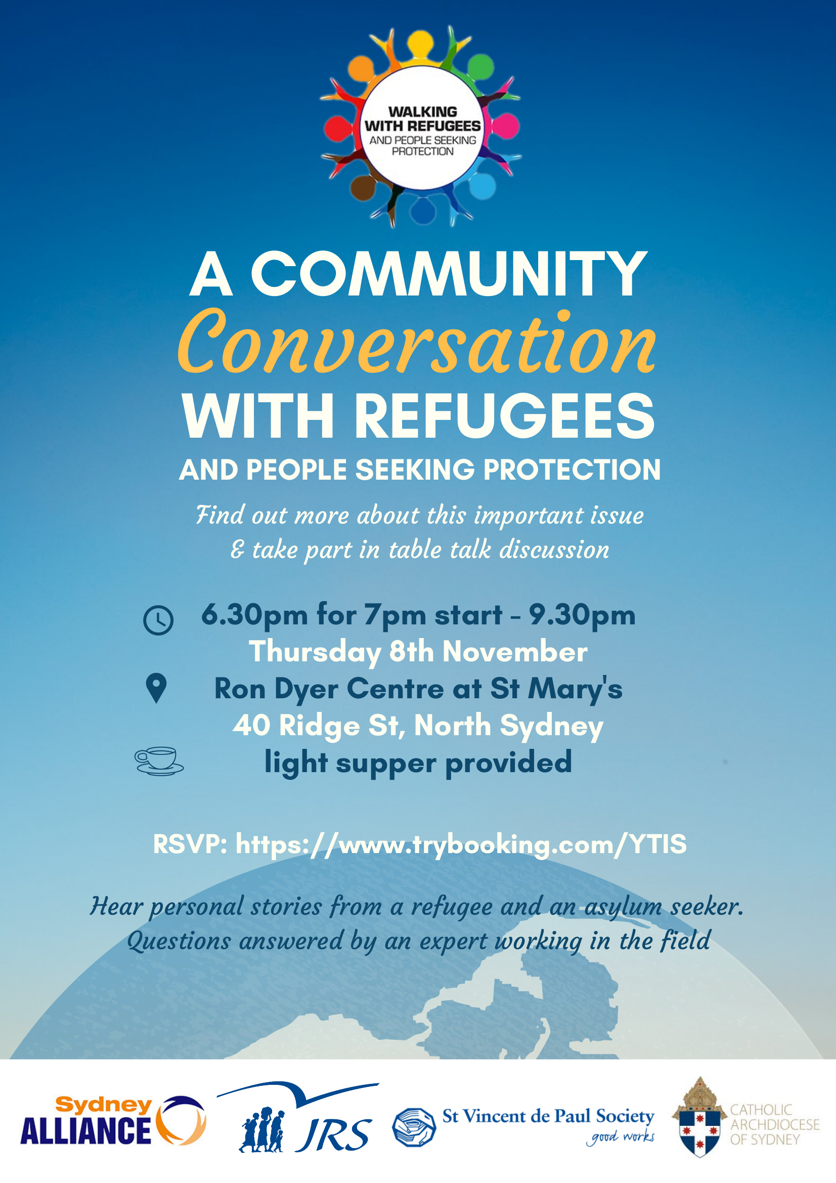 November 2018 TableTalk on Refugees